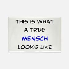 true mensch Rectangle Magnet