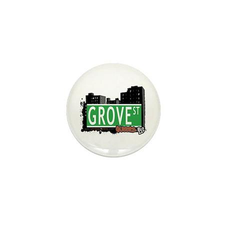 GROVE STREET, QUEENS, NYC Mini Button