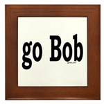 go Bob Framed Tile
