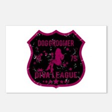 Dog Groomer Diva League Postcards (Package of 8)