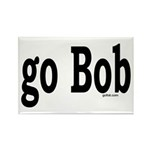 go Bob Rectangle Magnet (100 pack)