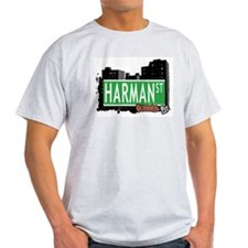 HARMAN STREET, QUEENS, NYC T-Shirt