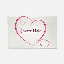 Jasper Hale Rectangle Magnet