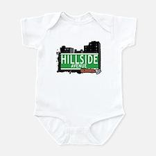 HILLSIDE AVENUE, QUEENS, NYC Infant Bodysuit