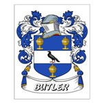Butler Coat of Arms Small Poster