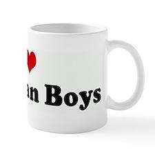 I Love Brazilian Boys Mug