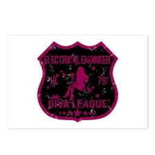 Electrical Engineer Diva League Postcards (Package