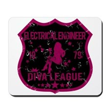 Electrical Engineer Diva League Mousepad