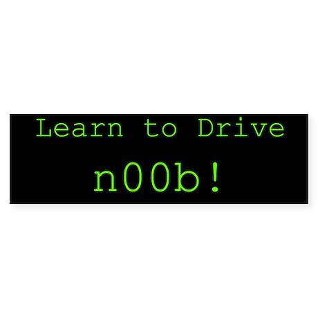 Learn To Drive Bumper Sticker 50 pk