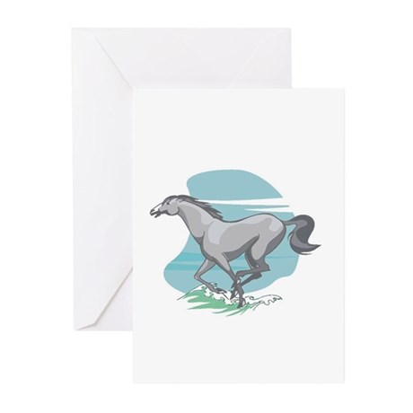 Horse Mania Greeting Cards (Pk of 10)