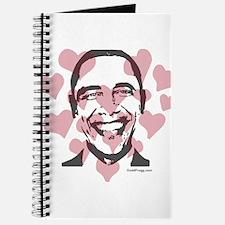 oddfrogg Obama Valentine Journal