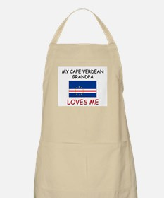 My Cape Verdean Grandpa Loves Me BBQ Apron