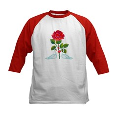 Romantic Valentine Swans Tee