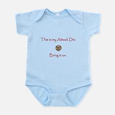 Attack Die Infant Bodysuit