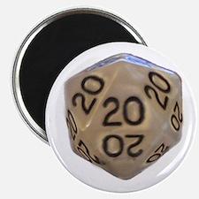 Unique D20 dice Magnet