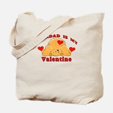 Grandad My Valentine Tote Bag