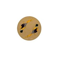 Ring Neck Pheasant Mini Button (10 pack)