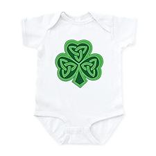 Celtic Knot Shamrock Infant Bodysuit