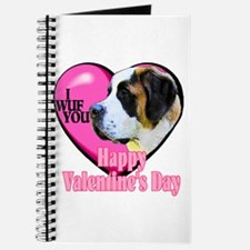 Saint Bernard Valentines Journal