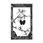 The Butterfly Rectangle Sticker 50 pk)