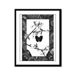 The Butterfly Framed Panel Print