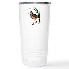 Snipe Wading Bird Thermos Mug