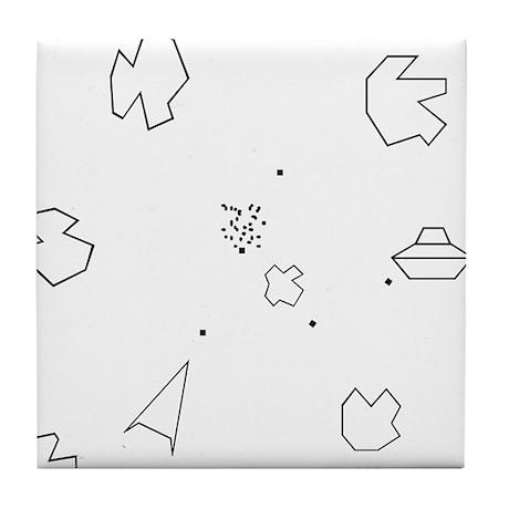 Asteroids Tile Coaster