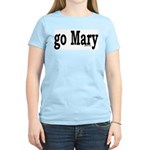 go Mary Women's Pink T-Shirt