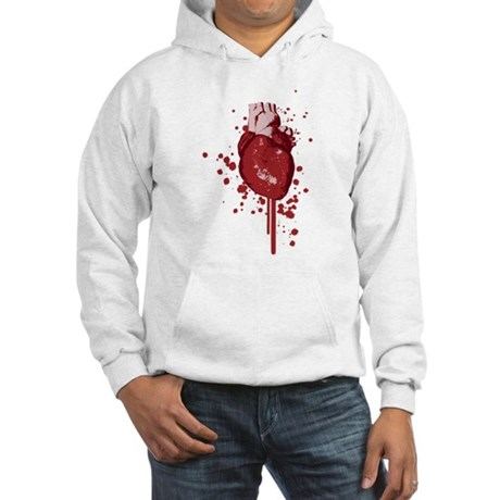 Bleeding Heart Hooded Sweatshirt