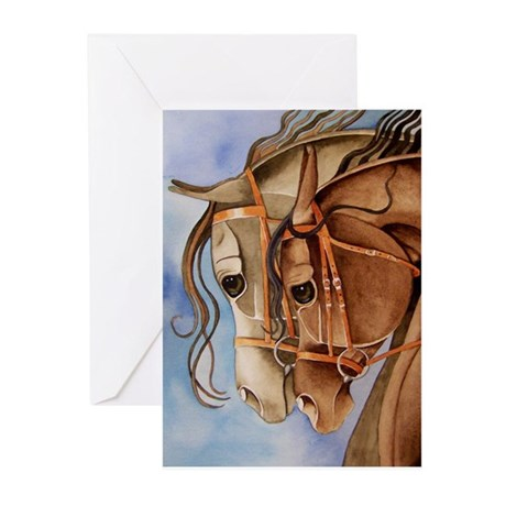 Watercolor Horse Greeting Cards (Pk of 10)
