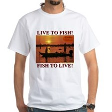 LIVE TO FISH! Shirt