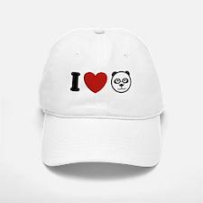 I Love Pandas Baseball Baseball Cap