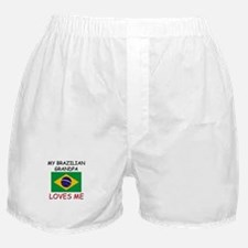 My Brazilian Grandpa Loves Me Boxer Shorts