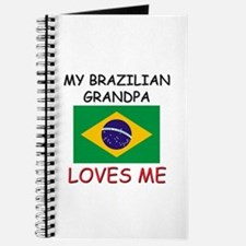 My Brazilian Grandpa Loves Me Journal