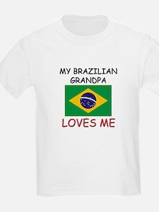 My Brazilian Grandpa Loves Me T-Shirt
