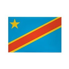 Congo, Democratic Republic of Rectangle Magnet