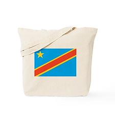 Congo, Democratic Republic of Tote Bag