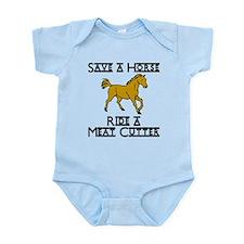 Meat Cutter Infant Bodysuit