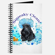 Scottish Terrier Bubble Bath Journal