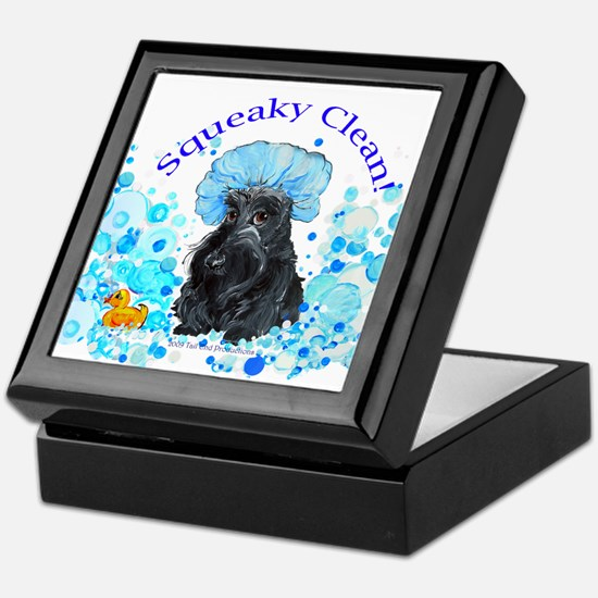 Scottish Terrier Bubble Bath Keepsake Box