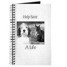Help Save A Pets Life Journal