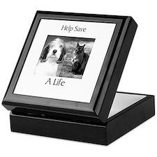 Help Save A Pets Life Keepsake Box
