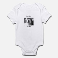Help Save A Pets Life Infant Bodysuit