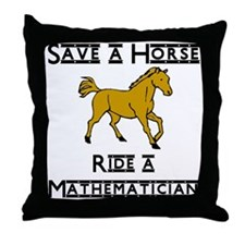 Mathematician Throw Pillow