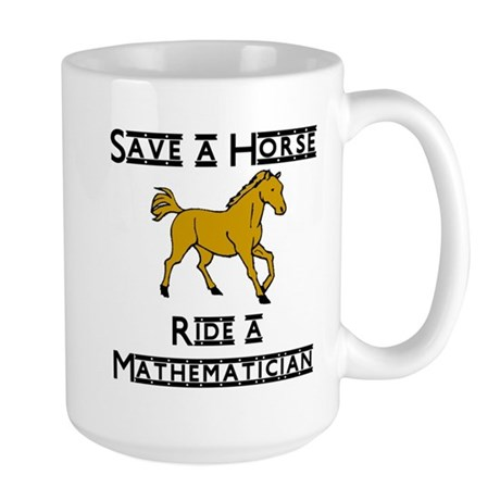 Mathematician Large Mug