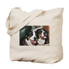 Cute Greater swiss mountain dog Tote Bag