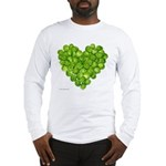 Brussel Sprouts Heart Long Sleeve T-Shirt
