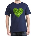 Brussel Sprouts Heart Dark T-Shirt