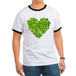 Brussel Sprouts Heart Ringer T