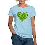 Brussel Sprouts Heart Women's Light T-Shirt